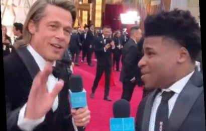 Cheer's Jerry Went to the Oscars & Naturally Freaked Out