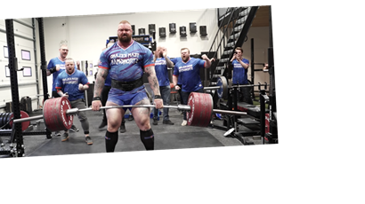 The Mountain Just Set an Unofficial Deadlift World Record