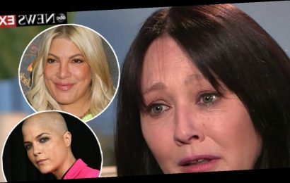 Tori Spelling, Selma Blair Among Stars Embracing Shannen Doherty After Cancer Reveal