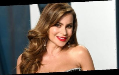 Sofia Vergara, 47, Stuns In A Sheer Bustier Dress At After-Party With Son Manolo: See Pic