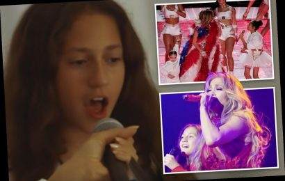 J. Lo's daughter Emme, 11, shows off incredible voice months before Super Bowl Halftime debut – The Sun