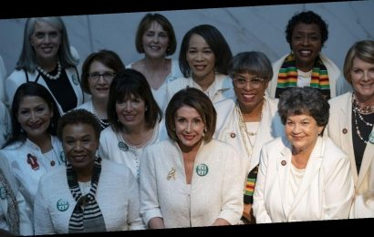 Democratic women in Congress wearing white to Trump's State of the Union to honor suffrage movement