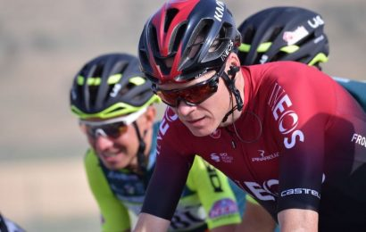 Cycling: Froome back in the saddle after serious injury as Ackermann takes UAE Tour first stage