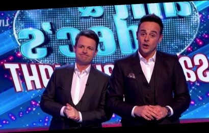 Ant and Dec send plea to Saturday Night Takeaway fans after lice audience axe