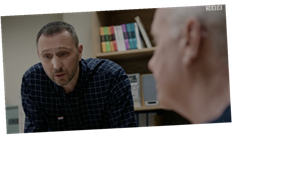 Casualty fans go wild for Holby City character crossover as Fletch turns up
