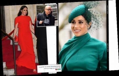 Meghan's makeup artist thanks royal for 'letting us play dress up'
