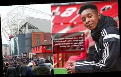 Manchester United helping police investigation into 'racist attack'
