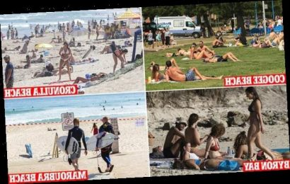Thousands of Australians swarm to beaches even AFTER Bondi was closed