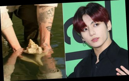 What Does BTS' Jungkook's Flower Tattoo Mean? It May Connect To His Birthday