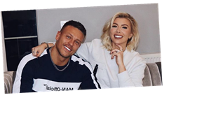 Love Island's Olivia Buckland and Alex Bowen unveil stunning staircase transformation in their new home