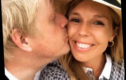 Boris Johnson promises to get stuck in changing nappies when fiance Carrie Symonds gives birth this summer
