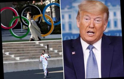 Trump says there's 'big decision' to make over Olympics as he tells all Americans to stay home – The Sun
