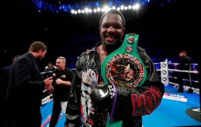 Dillian Whyte should be new WBC world champion if 'there's issue' with Tyson Fury's alleged failed drug test, says Hearn – The Sun