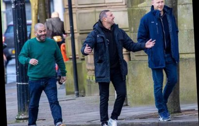 Top Gear's Paddy McGuiness, Freddie Flintoff and Chris Harris take to Bolton for sports car showdown – The Sun