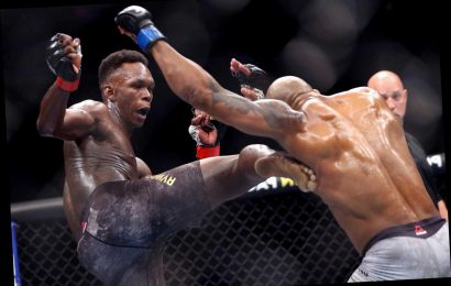 Israel Adesanya banned from UFC for six months ahead of scans to check whether he broke BOTH his feet in Romero fight – The Sun