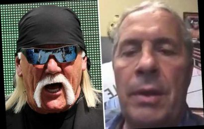 Bret 'The Hitman' Hart launches astonishing attack on Hulk Hogan and brands fellow WWE legend a 'phoney piece of s***' – The Sun