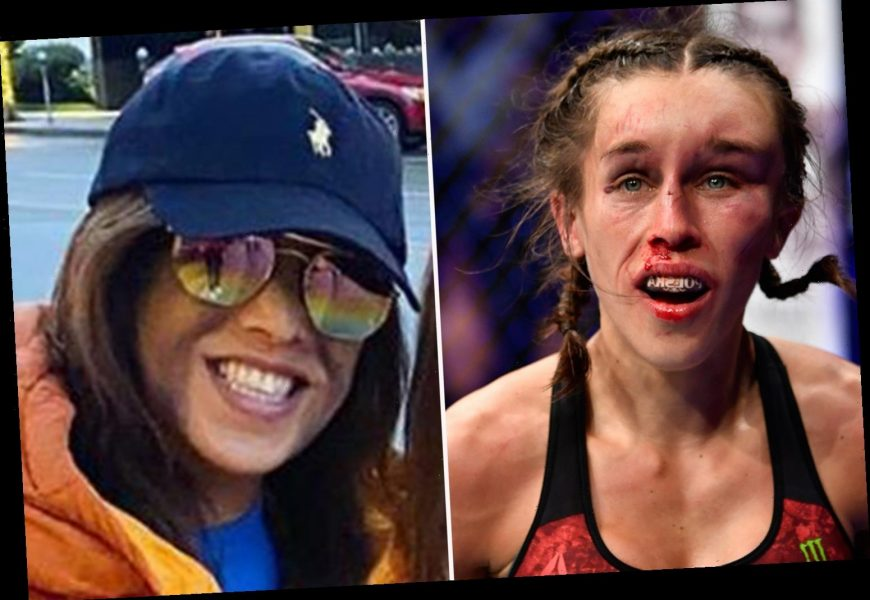 Joanna Jedrzejczyk shows off healing forehead after suffering horror hematoma in UFC 248 defeat to Weili Zhang – The Sun