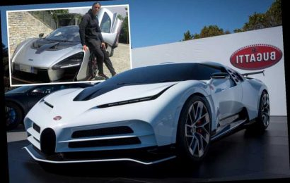 Cristiano Ronaldo 'splashes out £8.5million on limited edition Bugatti Centodieci' – with just ten models ever created – The Sun