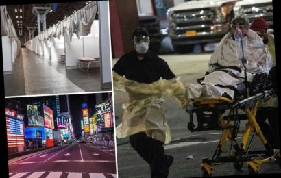 One New Yorker dies of coronavirus every 17 MINS, 911 calls hit record high & hospitals 'could collapse in 9 days' – The Sun