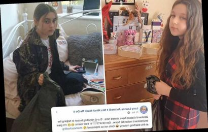 Homeschooling mum tricks daughters into cleaning out rooms by pretending it's an 'eco and recycling lesson'