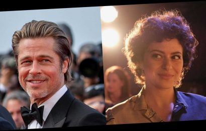 "Brad Pitt and Arrested Development Actress Alia Shawkat Are ""Just Friends,"" Despite Dating Speculation"