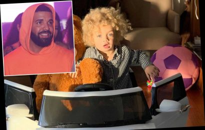 Drake shares photos of son Adonis for first time: 'Miss my beautiful family'
