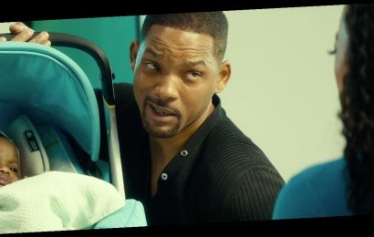 See Will Smith Hilariously Struggle with a Baby Car Seat in a Deleted Scene from Bad Boys for Life