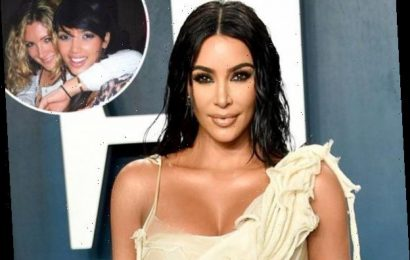 Kim Kardashian Questions Her Hair and Makeup Choices in Throwback Pic