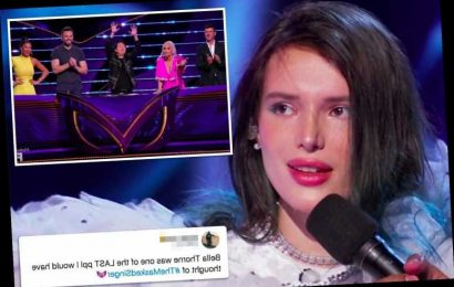 The Masked Singer's latest shocking elimination reveals Bella Thorne to be The Swan – The Sun