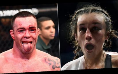 UFC fighter Colby Covington mocked Joanna Jedrzejczyk's horrific facial injuries, saying she is 'washed up' after getting her face 'rearranged'