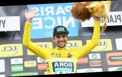 Paris-Nice: Max Schachmann wins first stage in four-man sprint finish