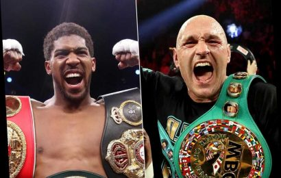 Tyson Fury vs Anthony Joshua ready to be agreed for December, Eddie Hearn says