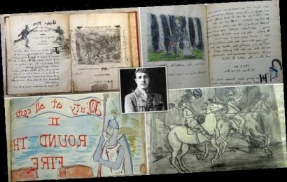 Poignant childhood scrapbook is discovered after 119 years