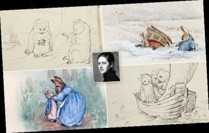 Beatrix Potter drawings of Peter Rabbit emerge for sale for £250,000