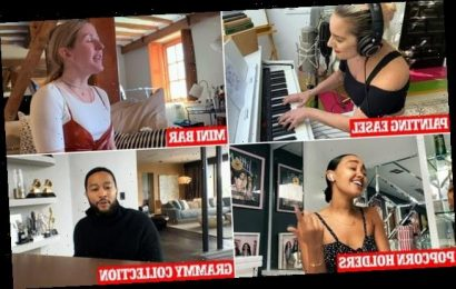 One World: Together at Home concert gives rare view inside celeb homes