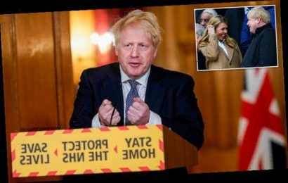 Boris Johnson's joy at being with Carrie Symonds for their son's birth