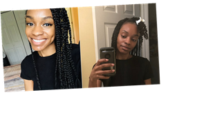I Did My Own Box Braids For the First Time Despite Barely Knowing How to Braid