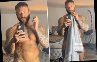 Love Island's Tom Powell strips naked for cheeky video showing off his package – The Sun