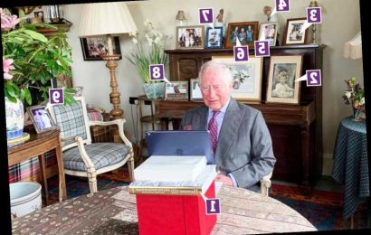 Inside Prince Charles' office with unseen snap of Archie, photo of his 'favourite' sibling & his own book pride of place