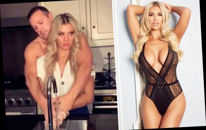 Christine McGuinness wows in lingerie after reenacting Ghost scene with Paddy – The Sun
