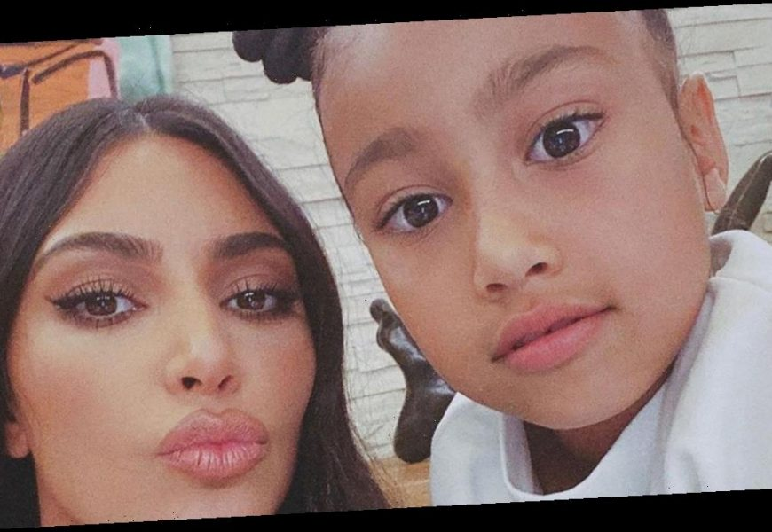 8 Times Kim Kardashian and North West Have Twinned