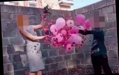 Pregnant schoolgirl, 14, who claims boy, 10, is the father holds gender reveal party to announce she's having a girl – The Sun