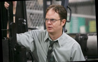 'The Office': Rainn Wilson Went 'Full Out' Dwight in This Very Physical Cold Open Scene