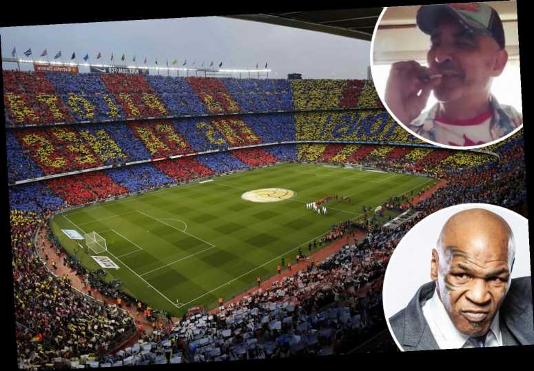 Mike Tyson's cannabis business partner Alki David confident of landing naming rights deal for Barcelona's Nou Camp – The Sun