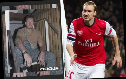 Arsenal cult hero Nicklas Bendtner shows off 'Lord' Louis Vuitton collection as he wears £2,600 dungarees – The Sun