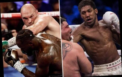 British boxing aiming to return by July with fights for Anthony Joshua, Tyson Fury and Dillian Whyte up in the air – The Sun