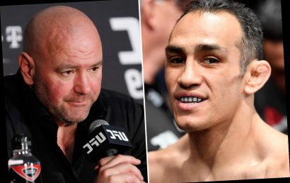 Dana White insists nobody will be made redundant after UFC 249 is axed as Tony Ferguson vows to continue training – The Sun