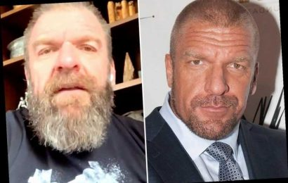 WWE legend Triple H sends fans wild with isolation hair and beard transformation on video call on The Bump – The Sun