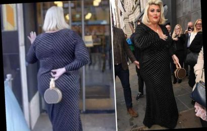Gemma Collins left red-faced as her dress splits open on the red carpet – The Sun