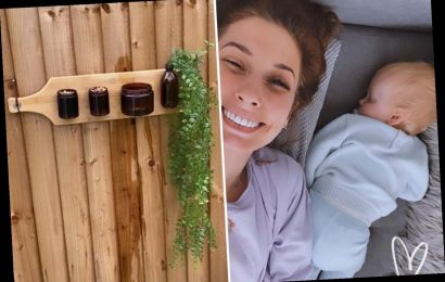 Stacey Solomon transforms empty candles into DIY bird bath and feeder – and it's really easy